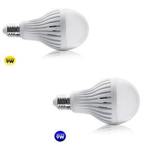 Maclean MCE177 Ampoule LED E27 9W 230V avec capteur de mouvement et crépuscule