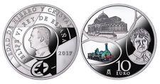 ESPAÑA: 10 euro plata 2017 proof  Edad de Hierro y Cristal - PROGRAMA EUROPA
