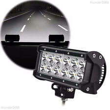 36W CREE-LED Light Bar Spotlight Car Truck Pickup Offroad Driving Lamp 12V 24V