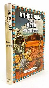 SIGNED-Tony-Hillerman-034-Dance-Hall-of-the-Dead-034-FIRST-EDITION-1st-PRINTING-1973