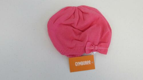Gymboree Posh /& Playful Pink Hat w//Bow Size 12-24 mos 2T-3T 4T-5T New