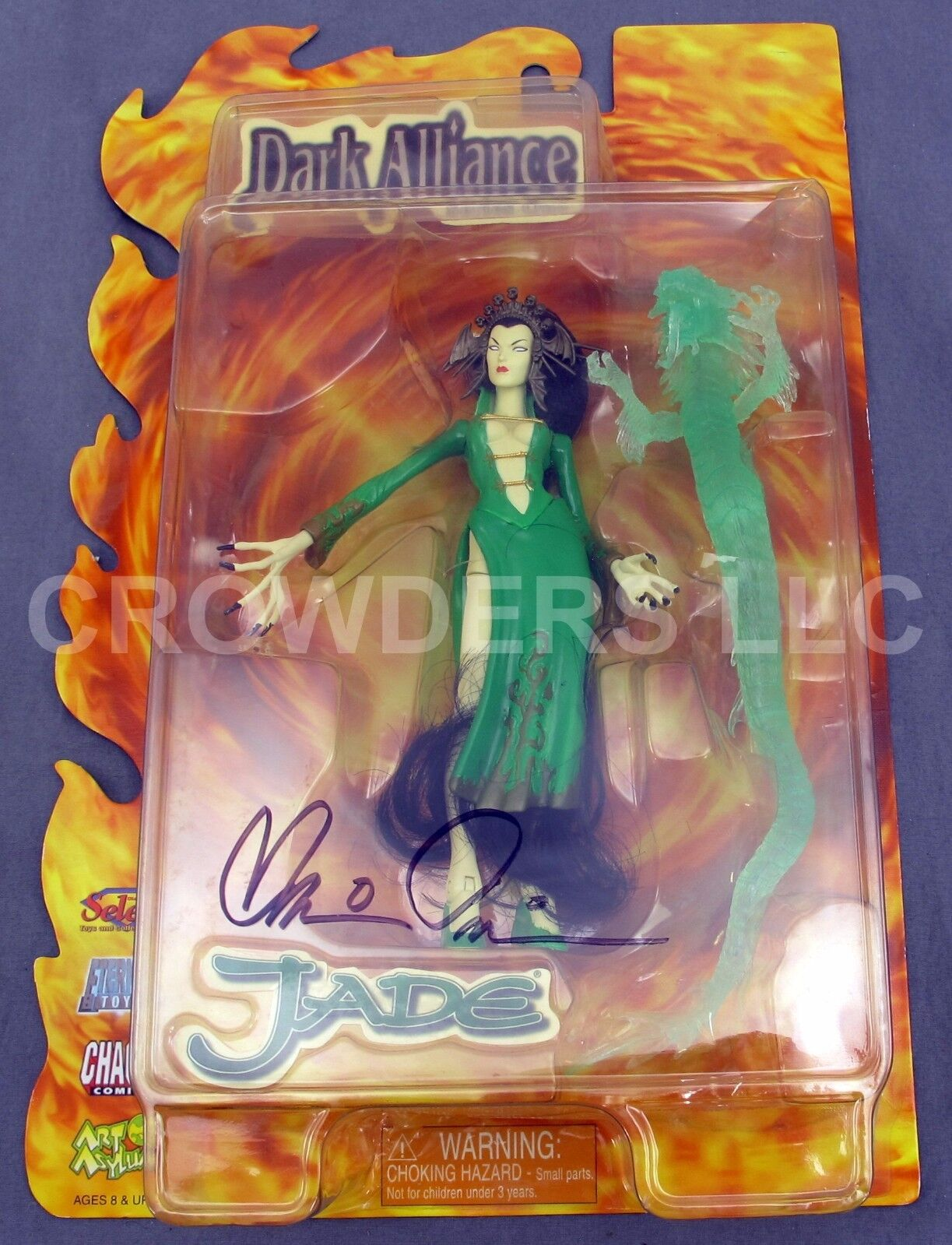 Dark Alliance  Jade  Series One Signed Signed Signed by Brian Pulido Chaos Comics Eternal Toys 057686