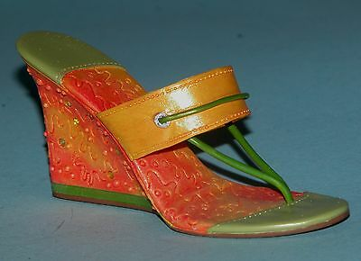 Just The Right Shoe Miniature SPRING FEVER  #25522 New In Box COA