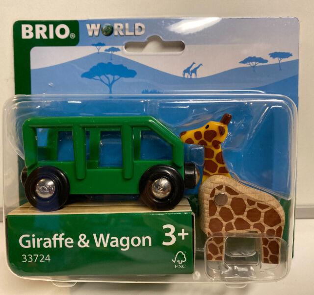 Safari Giraffe  Wagon BRIO World