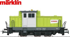 Marklin-h0-29652-1-diesellok-Henschel-dhg-700-Claas-Design-034-mfx-luz-parpadeante-034-nuevo