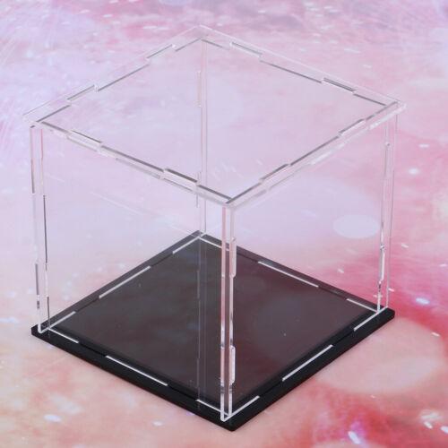 Acryl Display Box Staubdichter Schutz Toy Doll Model Show Case Cube