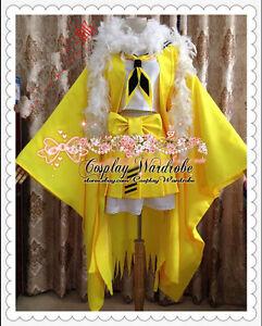 49a3d15d Image is loading Pokemon-Jolteon-Cosplay-costume-Yellow-White-fur-Pokemon-