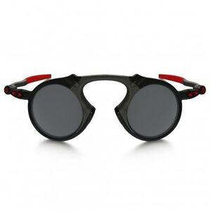 588b21188a Oakley Madman Scuderia Ferrari Sunglasses OO6019-06 Dark Carbon Black  Polarized