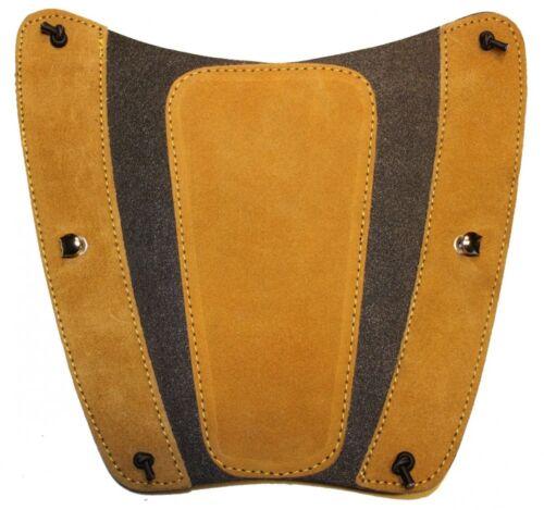 Bogensport 22x18 cm aus Leder Armschutz traditionell black.bulls f