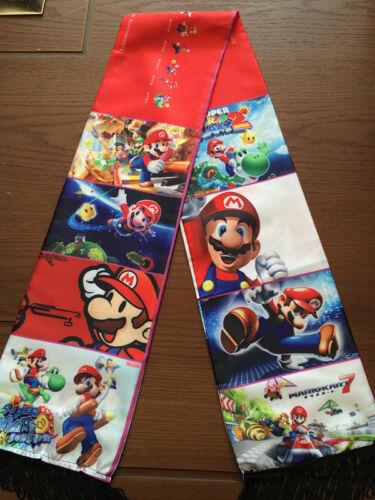 Game Super Mario Bros Muffler Costume Shawl Quasten Schal Scarf