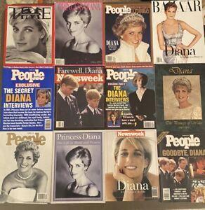 Princess Diana Magazine Lot