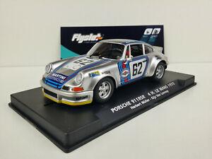 Slot-car-Scalextric-Flyslot-Ref-036105-Porsche-911-RSR-62-4h-Le-Mans-1973