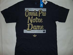 ADIDAS-Notre-Dame-Fighting-Irish-Football-OMNIA-PRO-T-Shirt-L-Large-NCAA-NWT-NEW