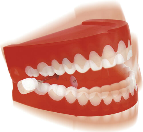 Chattering Teeth by Toysmith wind up dentures
