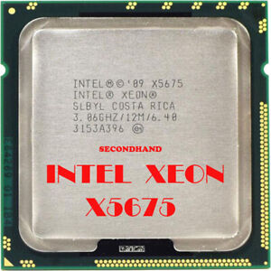 6x-CPU-OLD-Intel-Xeon-X5675-3-06GHz-12M-Cache-Hex-6-Core-Processor-LGA1366-ARMG