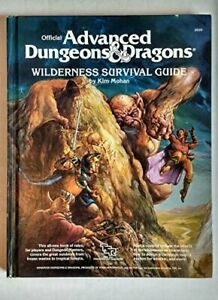 Wilderness Survival Guide (Official Advanced Dungeons... by Mohan, Kin Paperback