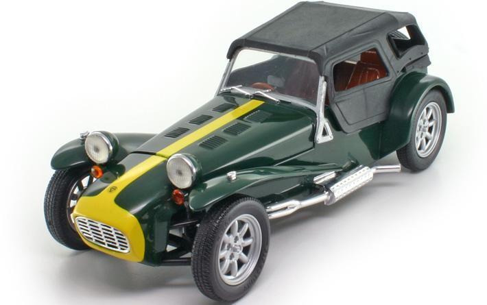 1 18 Anson Lotus Super Seven Caterham '73 MIB