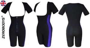 Slimming Bodysuit With Zipper for Weight Loss Sweat Yourself Slim