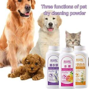Pet Dog Cat Shampoo Powder Dry Clean Powder Shower Anti D1E4 Gel Anti L6N2