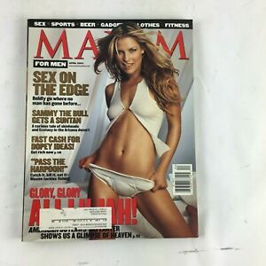 April-2001-Maxim-Magazine-Glory-Glory-Sex-on-the-edge-Pass-the-Harpoon