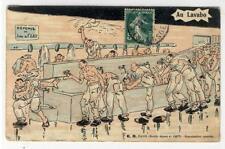 AK Scenes Militaires, Au Lavabo, 1910