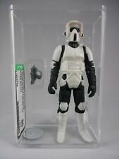 BIKER SCOUT Vintage Kenner Star Wars Action Figure ORIGINAL ART PRINT 3.75 ROTJ