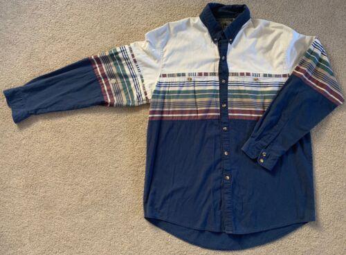 Vintage Spindle River Western Shirt Navajo