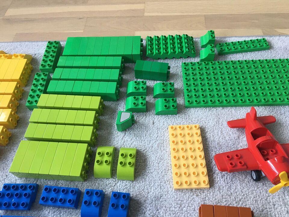 Lego Duplo, Blandede klodser, figurer og maskiner