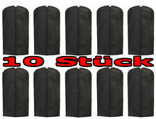 10er Pack Kleidersack aus Stoff mit Reißverschluss 60x135 cm Kleiderhülle Schutz