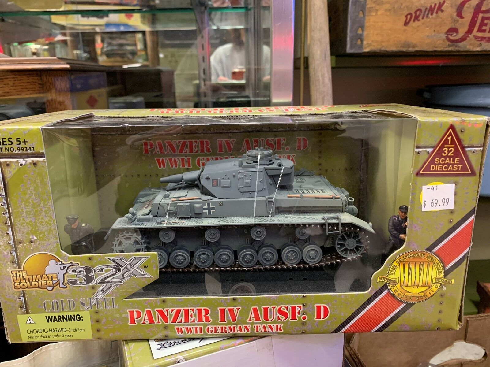 Ultimate Soldier 1 32 WWII Geruomo Panzer IV AUSF. D Tank 21st Century giocattoli