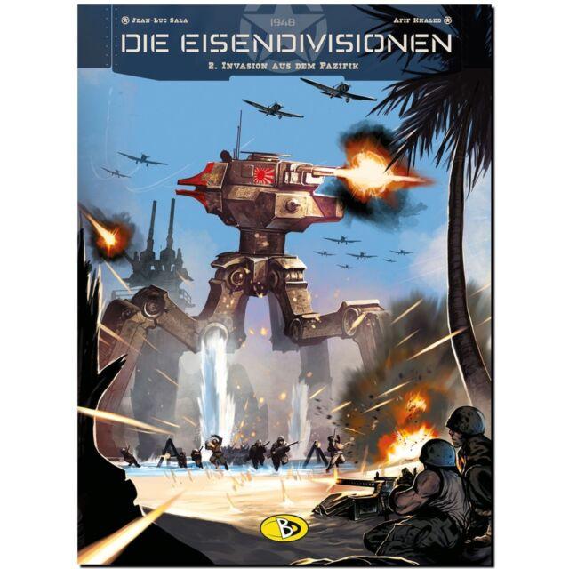 Die Eisendivisionen 2 Invasion aus dem Pazifik  Sci-Fi die Meka Panzer Feldzug