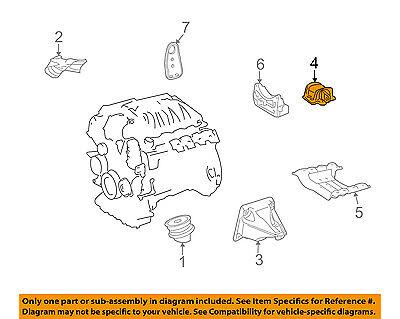 [EQHS_1162]  Mercedes MERCEDES-BENZ OEM GLK350-Engine Motor Mount/Torque Strut  2212400518 | eBay | Glk 350 Engine Diagram |  | eBay