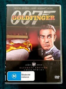 GOLDFINGER – ULTIMATE EDITION - DVD, 2-DISC SET-  R-4, LIKE NEW, FREE POST