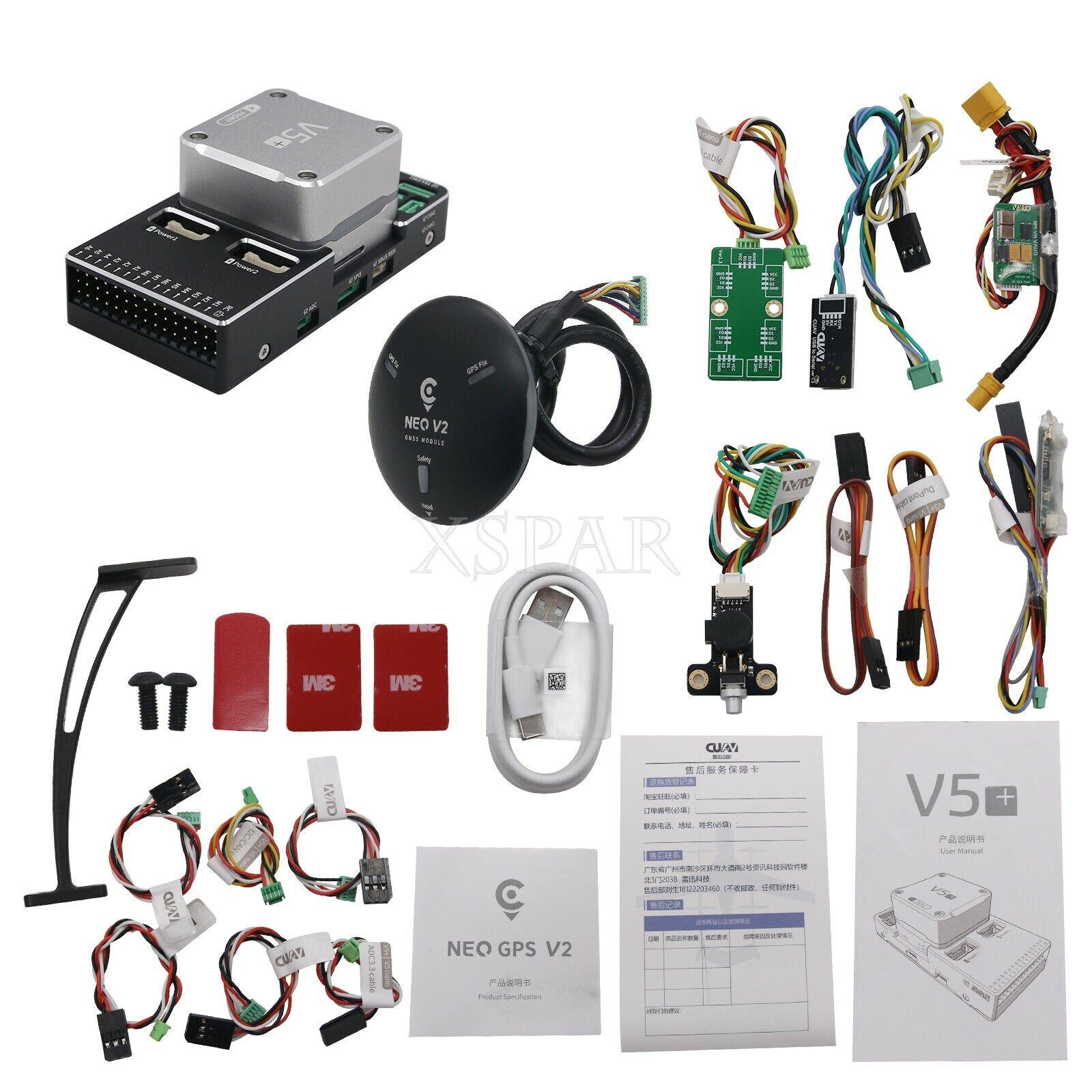 V5+ Autopilot volo Controller  + NEO GPS V2 GNSS Module for RC Drones UAV GPS  acquistare ora