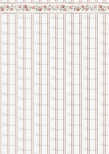puppenstubentapete-papel pintado para casa de muñecas * tap 167 *