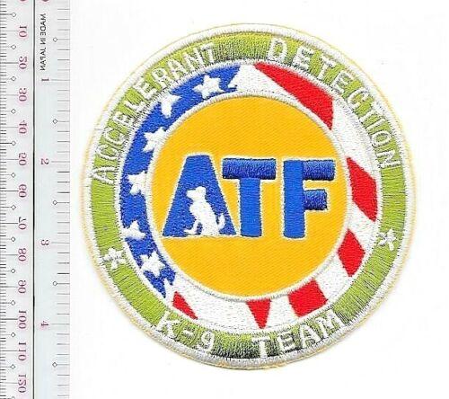 K-9 Police ATF Accelerant Detection Canine Team Officer /& Dog Unit
