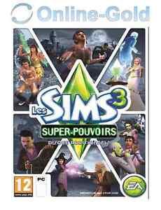 Les-Sims-3-Super-Pouvoirs-extension-Cle-EA-Origin-Carte-PC-Jeu-FR
