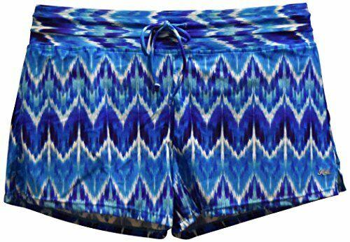 New Heat Women's Swimsuit Board Shorts Separates Shorts S M L XL 6 8 10 12 bluee