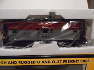 MTH Rail King #30-7712 New York Central Pacemaker bay window caboose NIB