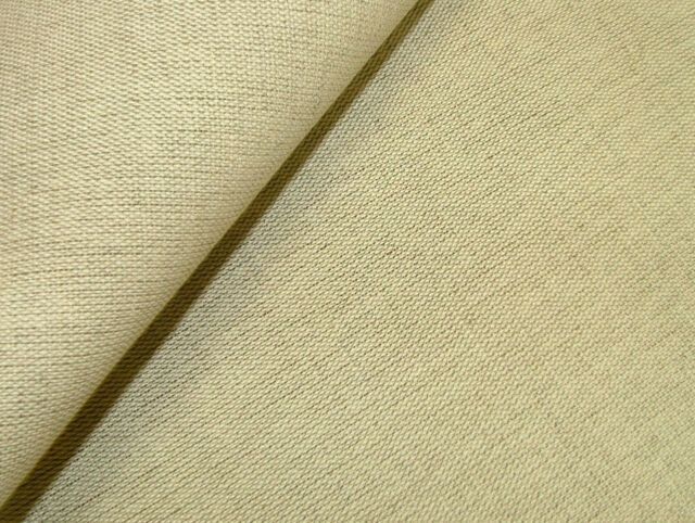 12m Premium Quality Natural Linen & Cotton Curtain Upholstery Loose Cover Fabric