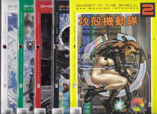 GHOST IN THE MACHINE 2 MANMACHINE INTERFACE LOT OF 5 #1 #3 #6 #7 #8 VFMANGA