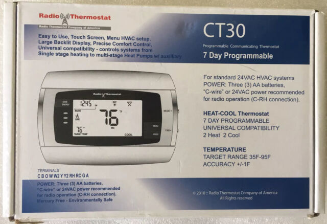 Tec 7 Day Programmable In Floor Heat Thermostat And Sensor For Sale Online Ebay