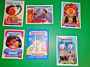 Garbage Pail Kids Series 16 Unreleased Sealed Wax Pack 5 die cut cards RARE!!