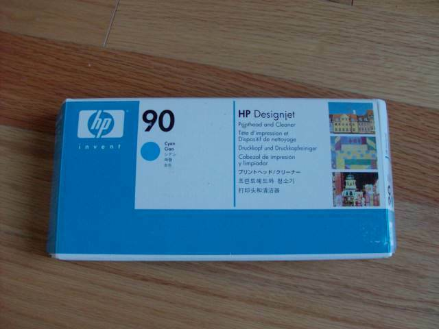 GENUINE HP #90 CYAN PRINTHEAD DESIGNJET 4000 4500 C5055A FACTORY SEALED