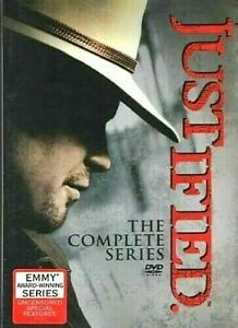 JUSTIFIED-The-Complete-Series-Box-Set-NEW-w-Bonus-Disc-U-S-SELLER