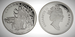 Canada-1990-Henry-Kelsey-Tricentennial-Proof-UNC-Silver-Dollar