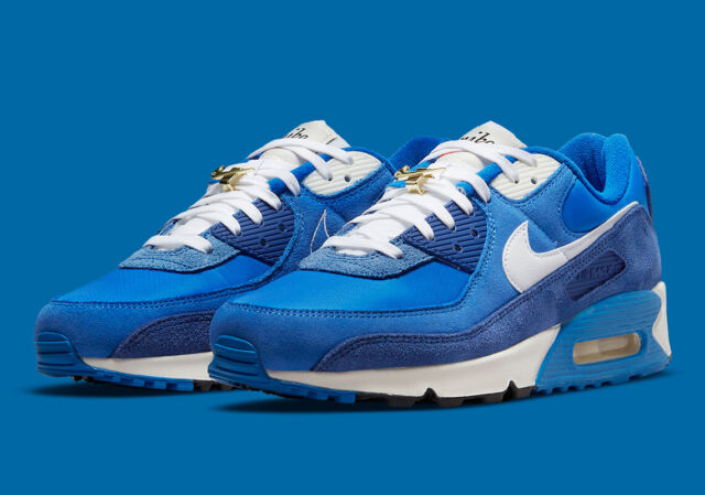 Nike Air Max 90 Ultra SE Mens Running Shoes Blue 845039-400 for ...