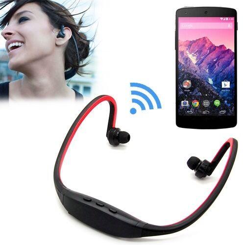 Bluetooth Sport Headset Headphone With Microphone For LG G2 Google Nexus 4 5