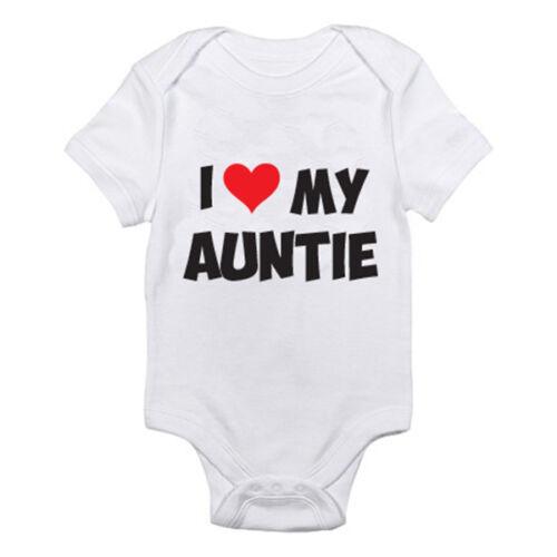 Costume I love my Tantine-relative Croissance famille Drôle Nouveauté Bébé à thème