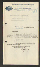 """ROUBAIX (59) DOUBLURES & DRAPERIES """"Anciens Ets. FRANCOIS"""" en 1934"""